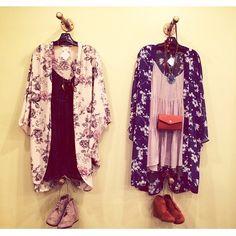 Festival ready // #Ootd x 2 from our lamar location. #kimono #fashion #shop #strut