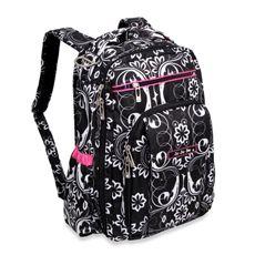 Ju-Ju-Be Be Right Back Backpack Style Diaper Bag - Shadow Waltz - Bed Bath & Beyond
