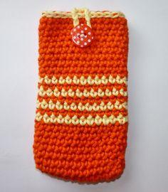 Handy-Tasche/Handy-Hülle/Handy-Socke *UNIKAT* von LeLiMe auf DaWanda.com