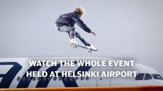Match Made in Helsinki: Der Flughafen als Skatepark