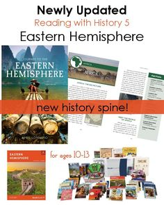 NEW history spine for Reading with History 5 │Ages 10-13 │Eastern Hemisphere Journey to the Eastern Hemisphere combines articles and photos about various countries and regions: China, Korea, Japan, Russia, Southeast Asia, Vietnam, India, the Middle East,