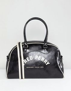 d68e76beca7 Fred Perry Classic Grip Carryall Bag in Black at asos.com. Carry All BagAsos  MenFred PerryGym BagClassicBagsHandbagsDerbyDuffle Bags