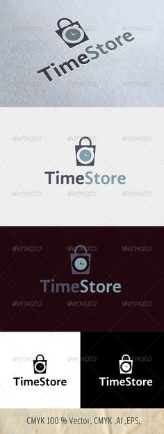 Timestore      An excellent logo template suitable for an time or clock or watches shopping    stores.Easy to edit with highly applicable. The Pack included: Ai, EPS files    Color mode: CMYK    Here is the Font that I used :http://www.fontsquirrel.com/fonts/gandhi-sans    For any other information, contact me.    Please rate if you like it !!