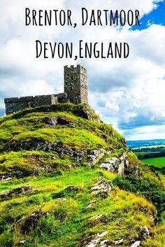 brentor church dartmoor devon england