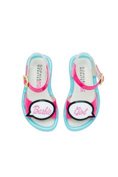 The Barbie by Sophia Webster collection bring's the dolls shoe closet to life with everything from sneakers to pink, butterfly wing heels for women and children.