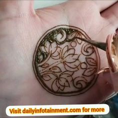 Round Mehndi Design, Modern Henna Designs, Indian Henna Designs, Basic Mehndi Designs, Floral Henna Designs, Latest Bridal Mehndi Designs, Henna Art Designs, Mehndi Designs 2018, Mehndi Designs For Beginners