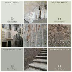 Pure & Original Lime Paint and Chalk Paint Paint Color Palettes, Paint Color Schemes, Colour Pallette, Wall Colors, House Colors, Paint Colors, Room Color Design, Family Room Colors, Paint Color Chart