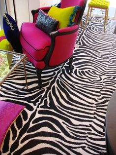 The Zebra print Axminster Carpets Collection