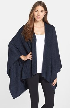 Barefoot Dreams® Open Front Wrap available at #Nordstrom
