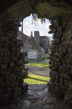 Ewenny Priory, Bridgend, Wales, UK
