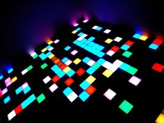Funky leds. Illuminated dancefloor.  #Nightclubs #design #dancefloors