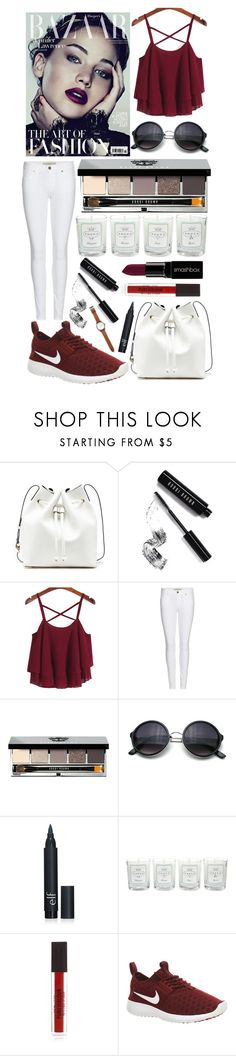 """The art of fashion! #101"" by worldofflowers ❤ liked on Polyvore featuring Sole Society, Bobbi Brown Cosmetics, Burberry, Smashbox, Tocca, NIKE and Jack Spade"