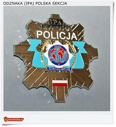Przedstawiam odznakę IPA - Światowej Organizacji Policyjnej