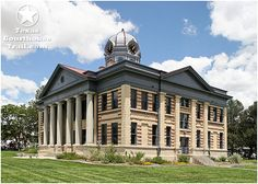 Jeff Davis County - Fort Davis, TX. we lived catty-corner on this. This is a picture of the renovated Court House
