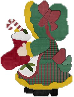 Miss Christmas Sue Cross Stitch by MartisXSDesigns on Etsy, $5.00