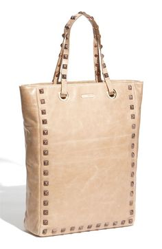 I own this bag in the mushroom color, but I what I really wanted was this creamy colored bag with rose gold accents... it's beautiful, but high maintenance so I left it on the shelf.