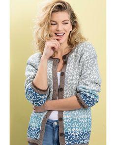 Jakke Slottsrose   Knittingroom Vest, Denim, Sweaters, Fashion, Threading, Moda, Fashion Styles, Sweater, Fashion Illustrations