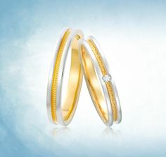 Embrasser Purest wedding bands Collection, in 999 gold and 999 platinum