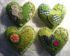 Pretty pin cushion ideas!