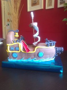 Tarta Barco pirata Jake
