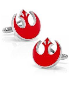 {Star Wars Rebel Alliance Symbol Cufflinks} #FathersDayGift