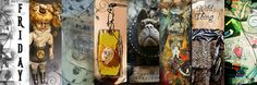 Ice Resin, Neck Wrap, Marquis, Spring 2014, Mantra, Sally, Create Yourself, Steampunk, Workshop