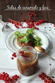 Salsa de caramelo y foie 273 https://es.pinterest.com/fatimag26/recetas-salsas-aderezos-vinagretas-dipp/