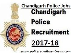 Chandigarh Police Bharti Police Recruitment, Police Jobs, Online Application Form, Chandigarh