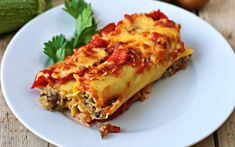 This version of cannelloni al Forno is just as cheesy and deliciously savory as the original, but it's completely dairy-free!