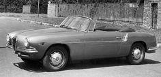 1947 ALAF ROMEO 1900 SUPER SPRINT CABRIOLET TIPO 55 - by Carrozzeria Touring Superleggera of Milan.