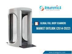 Global Full Body Scanners Market Outlook (2014-2022) For More Info: http://goo.gl/jhlXpF #fullbodyscanners #marketresearch