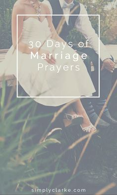 30 Days of Marriage Prayers - Simply Clarke