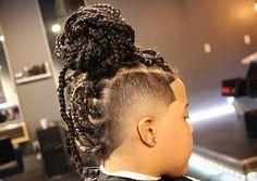 Rock Hawk Hairstyle