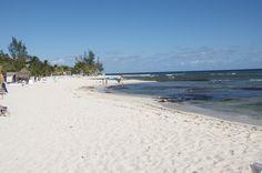 Sandos Caracol long beautiful beach