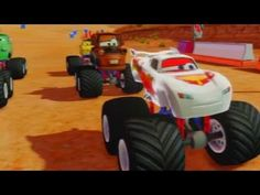 Cars Alive! Disney Infinity Gameplay - Silver Lightning McQueen - YouTube