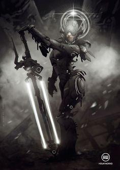 Blessed Weapon byhounworks