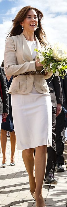 HRH Mary, Crown Princess of Denmark, Countess of Monpezat, in 2012.