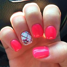 16 Adorable Nail Art Designs For An Energized Spring #nail #art #designs #simple #2017 #summer #colors #spring