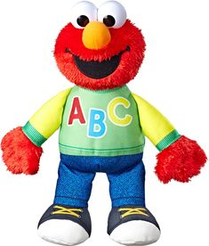Playskool Sesame Street Singing ABC?s Elmo *** For more information, visit image link. (This is an affiliate link) Toddler Toys, Baby Toys, Kids Toys, Elmo Toys, Sing The Alphabet, Sesame Street Characters, Sesame Street Toys, Musical Toys, Activity Toys