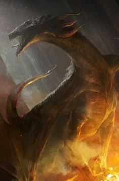Fire Dragon by Mazert Young