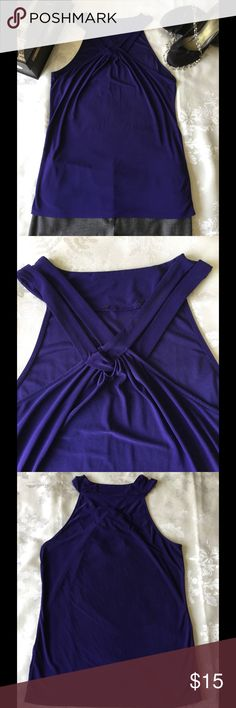 """The Limited eggplant blouse The Limited eggplant blouse. Excellent condition, hanging straps in tact, tags have been cut off. Pretty sure size is medium, bust 17"""" across. Additional measurements provided upon request. The Limited Tops Blouses"""
