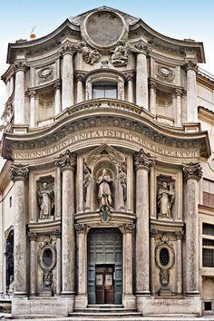 San Carlo alle Quattro Fontane.ROMA