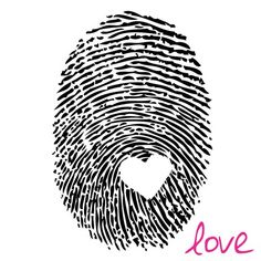 Love Thumbprint By Louise Carey Canvas Art – Tattoo Styles & Tattoo Placement Paar Tattoos, Neue Tattoos, Diy Tattoo, Wrist Tattoo, Finger Tattoos, Body Art Tattoos, Tatoos, Ink Tattoos, Arrow Tattoos