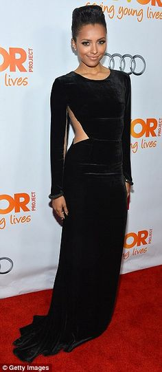 Beautiful in black: Kat Graham and Naya Rivera are drop dead gorgeous in their LBDs
