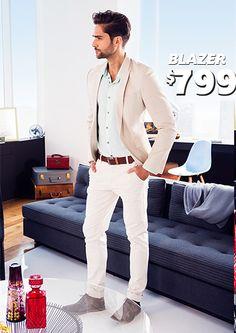 Blazer para caballero a sólo $799 pesos, en C&A.