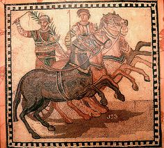 Chariot Racing in Ancient Rome - The History, Fans and Facts Ancient Rome, Ancient Greece, Ancient History, Rome Antique, Art Antique, Course De Chars, Chariot Racing, Roman Chariot, Ancient Olympics
