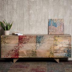Crank Furniture Zinniz Recycled Wood Sideboard