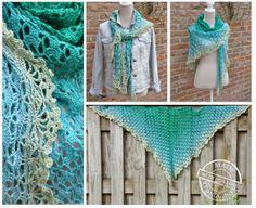 Mijn eigen plekkie: Deze sjaal maakte ik met de Unicat...
