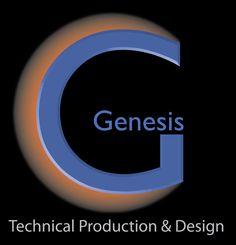 Genesis Technical Production & Design Logo (Design by Jay Ward)