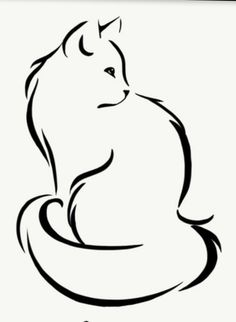 Im going to get this as a tribute tattoo for my cat that I lost recently.